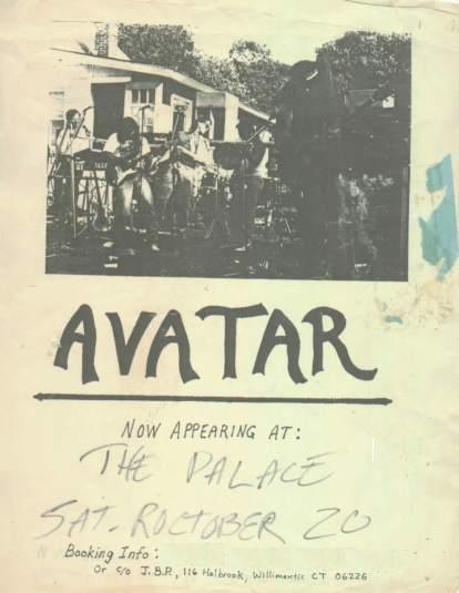 Old AVATAR poster