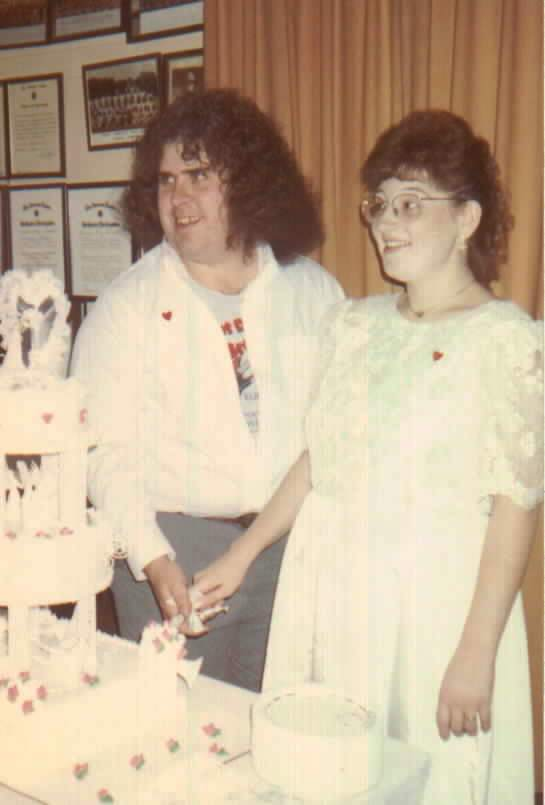From Me and Joob's wedding, 10/9/91
