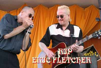 RIP, Eric Fletcher...sign his guestbook here